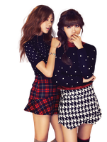Render 82 - Hayoung e Eunji (APink) by Starphine