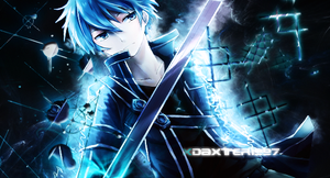 Sword Art Online - Kirito.# by Daxter1997