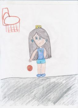 Practicing some hoops by AwkwardArtist-chan