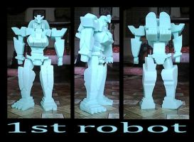 1st robot by redcolour