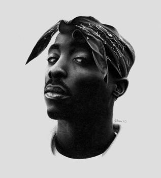 Tupac by GeeeO
