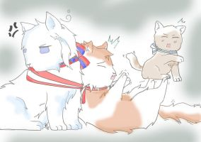 Nordic Kittens by 0CrescentMoon0