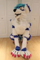 FOR SALE- Garurumon Quadsuit by TheCritterCreator