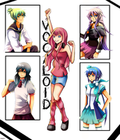 Random vocaloids by Poucet