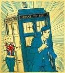 Time Lord Tardis by MikeDimayuga