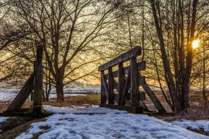 poling bridge by Fettoni