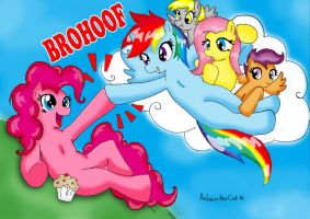 Ultimate Brohoof! by AnibarutheCat
