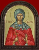 Saint Marina the Great Martyr by logIcon