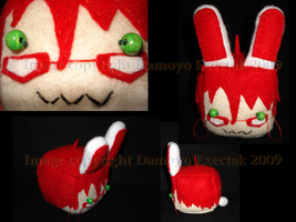 Grell Bunny a.k.a. Grunny by DamoyoExectak