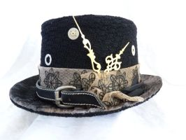 steampunk top hat by Serata