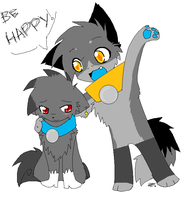 .: Be Happy D :. by RoxasLover-KH2