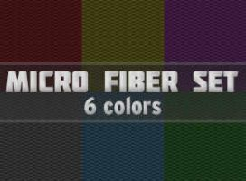 Micro fiber pattern set By JuanxRay by Juanxray