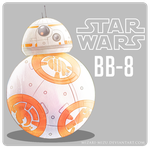 BB-8 (sketch color) by Mizari-mizu