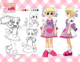 Cooking With Love model sheet by Banzchan