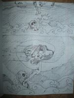 my game Sky Taxi 5 Sketch X4 by alexmakovsky