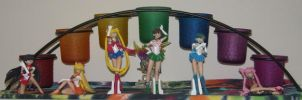 Sailor Moon figures by DavisJes