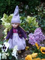 Gnome Serena Lilac by JanuaryGuest