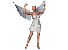 STOCK PNG angel by MaureenOlder