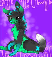 .:AT:.  CyanCanine by toxicfoxes