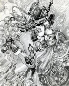 Shirow Masamune Black + White by Artsend