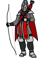 Medieval Marksman by ropa-to