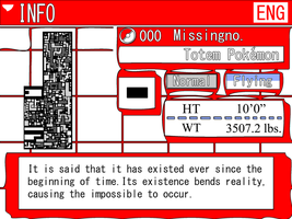 Pokemon 000 Missingno. Pokedex by One-Mister-Badguy