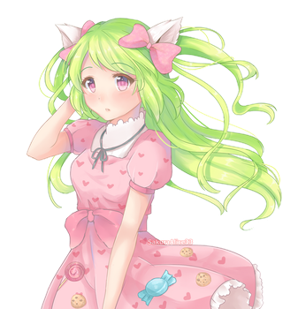 Candy-Meow by SakuraAlice33