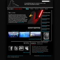 DV Web layout 2 by DuckyVader