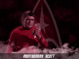 Montgomery 'Scotty' Scott by KadouCreations