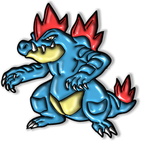 Feraligatr by Isa81