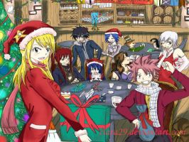 Christmas at Fairy Tail by Adelaide-Chrome