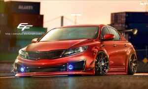 Kia Optima 2015 by EmreFast