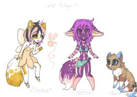 Chibi things by lfraysse
