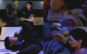 (Video) Thane New Romance Scene - 3ds Max by Ktr-Liane07