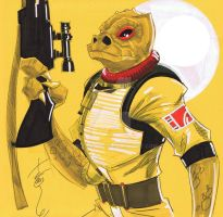 12x12 Bossk SLC by Hodges-Art