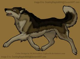 Wolf by Tephra76