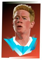 Kevin De Bruyne by Fresco24