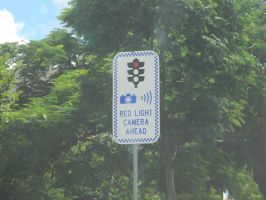 Red Light Camera Ahead by Zomit