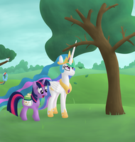 Celestia doesn't like trees by moemneop