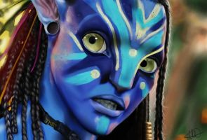 Avatar Neytiri by Juna69