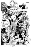 Final Fantasy 7 by steverinoz