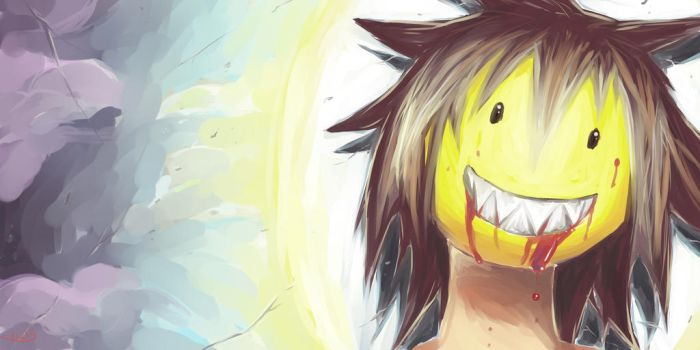 Smiling - Sonriente by 1LD3