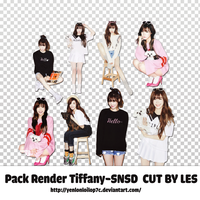 PACK RENDER TIFFANY - SNSD cut by Les by yenlonloilop7c