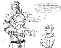 Mass Effect-Cool Story Bro by KingVego