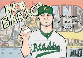 A's - Welcome to Oakland by zombiepencil