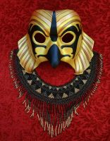 New Traditional Horus Mask #2 by merimask
