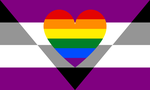 Aegosexual Homoromantic Combo by Pride-Flags