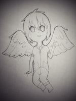 Sketch chibi: glaceonkisses24 by MiruKami