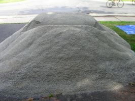 Gravel pile by Moonbeam13