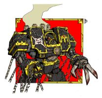 Chaos Dreadnought by Sufferst